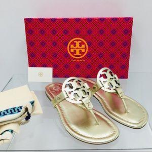 Tory Burch Miller Spark Gold Women's Sandals